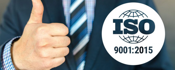 Quality certification (ISO 9001:2015)
