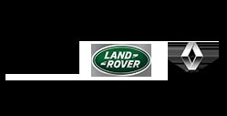 marques voitures : jaguar, land rover, renault